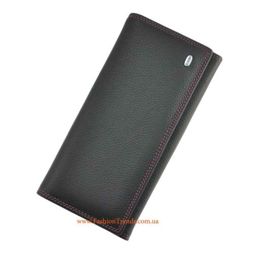 Женский кошелек Dr.Bond ST-3 W1-V черный