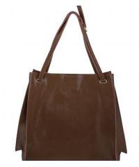Женская сумка B1 A1251-3 темно-бежевая
