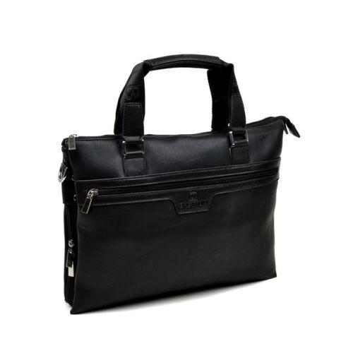 Мужской портфель Bretton 8253-1 черный