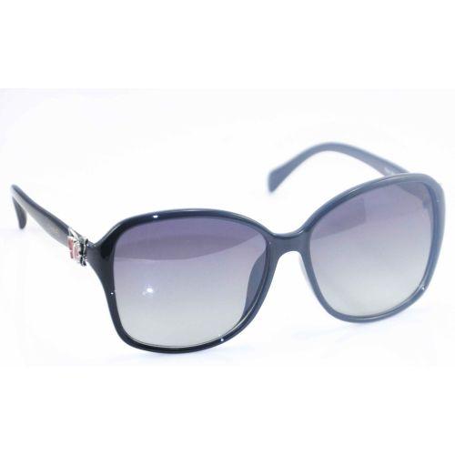 Солнцезащитные очки Chanel бабочка черные