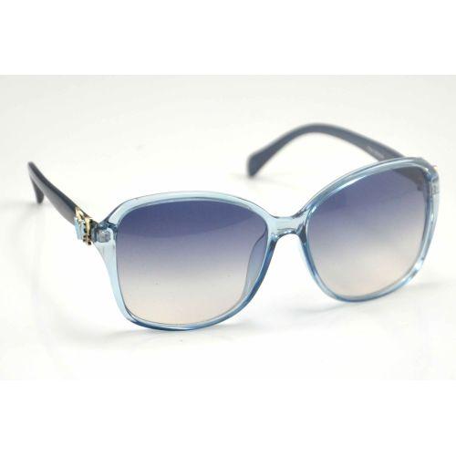 Солнцезащитные очки Cбабочка голубые