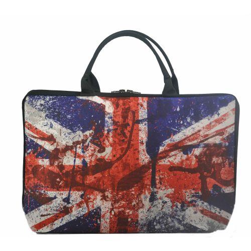 Женская сумка флаг Великобритании черная