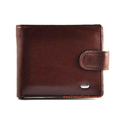 Мужской кошелек Dr.Bond M4 коричневый