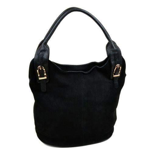 Женская сумка Velina Fabbiano 7253 черная