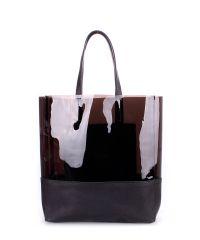 Женская кожаная сумка poolparty-city-carrie-black