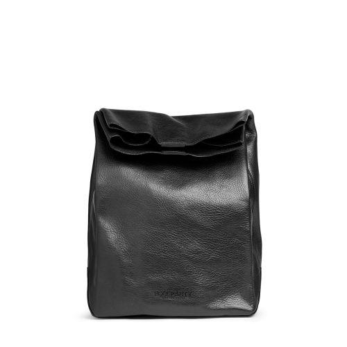 Ланчбокс poolparty-leather-lunchbox черный