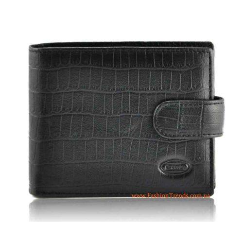 Мужской кошелек Bretton SV M36-Z кожаный черный