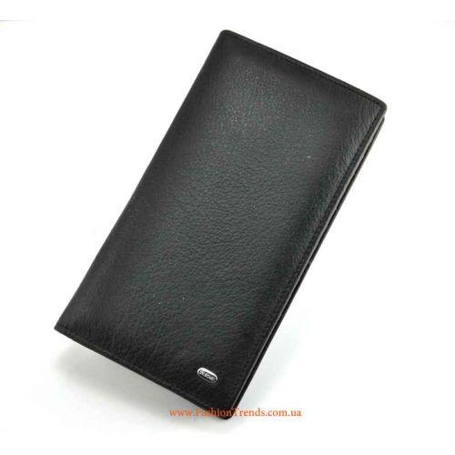 Мужской кошелек Bretton M68 Classik кожаный черный