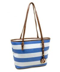 Уценка! Женская сумка dr. Bond 3-2 9731 бело-синяя