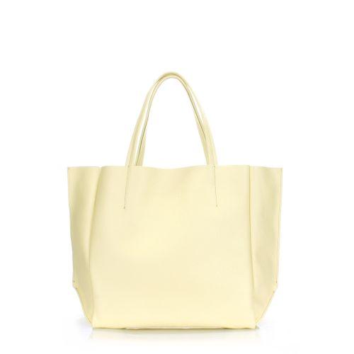 Женская кожаная сумка poolparty-soho-lemonade желтая