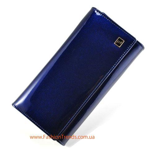 Женский кошелек dr.Bond W34 лак синий