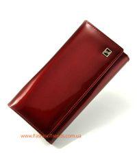 Женский кошелек dr.Bond W34 лак красный