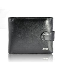 Мужской кошелек Europe Bretton M4 2 кожаный черный