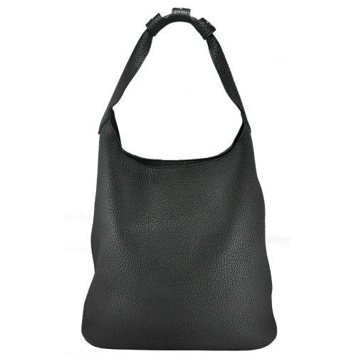 Женская кожаная сумка Дороти черная