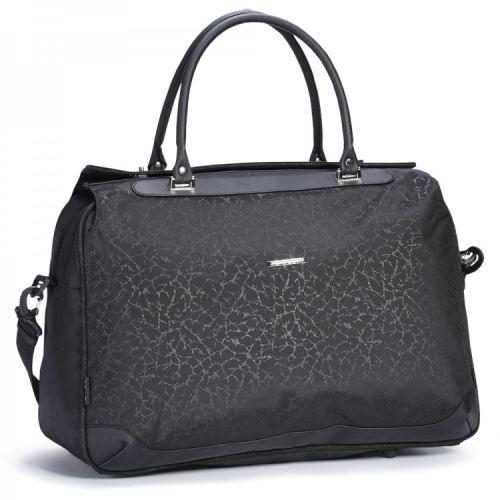 Дорожная сумка саквояж черная