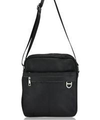 Мужская кожаная сумка 629 черная