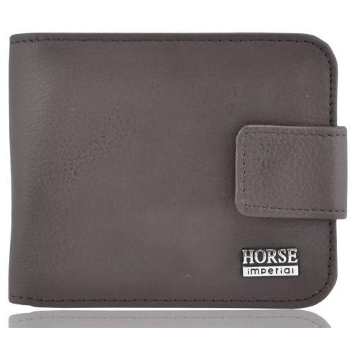 Мужской кожаный кошелек 029-1 коричневый