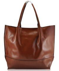 Женская кожаная сумка 8272 рыжая
