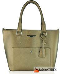 Женская сумка 2616-4 бронзовая
