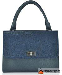 Женская сумка 2416-4 синяя