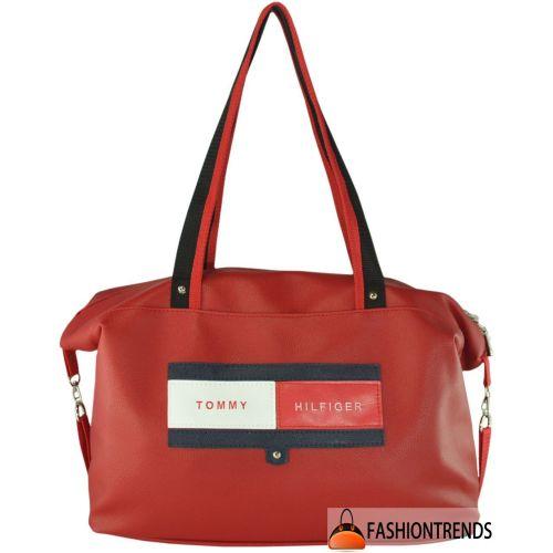 Спортивная сумка Tommy Hilfiger красная