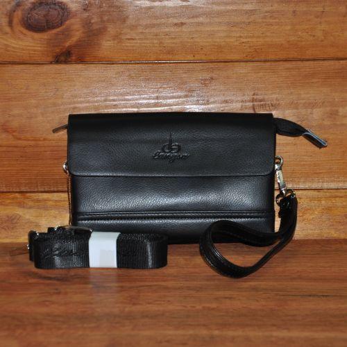 Мужской клатч Langsa 6681-1 black черный