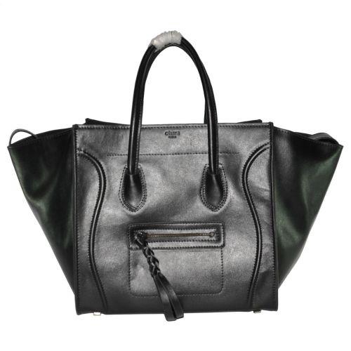 Женская сумка Celine Boston Maxi 2 черная