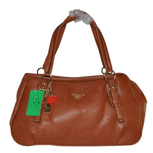 Женская сумка Ampio рыжая