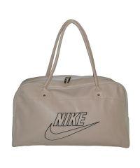 Спортивная сумка Nike New бежевая