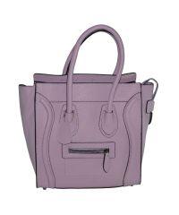 Женская сумка Boston фиолетовая