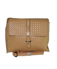 Кожаная сумка 501 персиковая