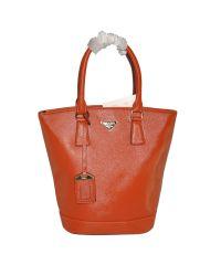 Женская сумка Tote рыжая