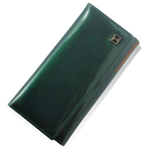Женский кошелек dr.Bond W34 лак зеленый