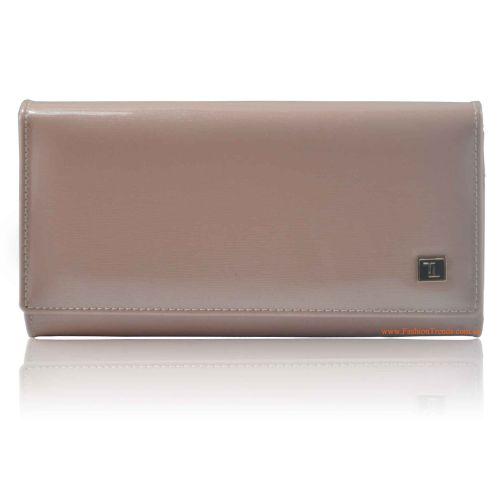 Женский кошелек dr.Bond W34 лак розовый