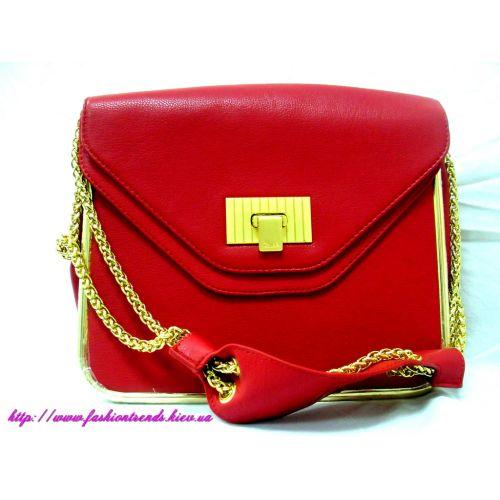 Женская сумка Chloe Sally красная