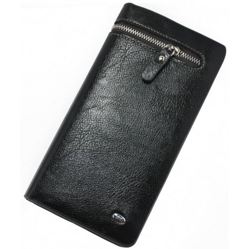 Мужской клатч Zipper черная