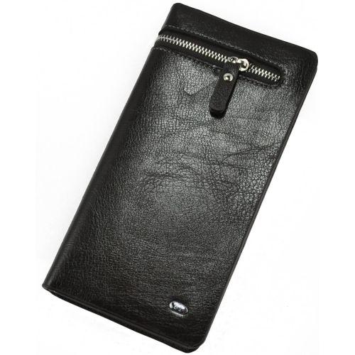 Мужской клатч Zipper коричневый