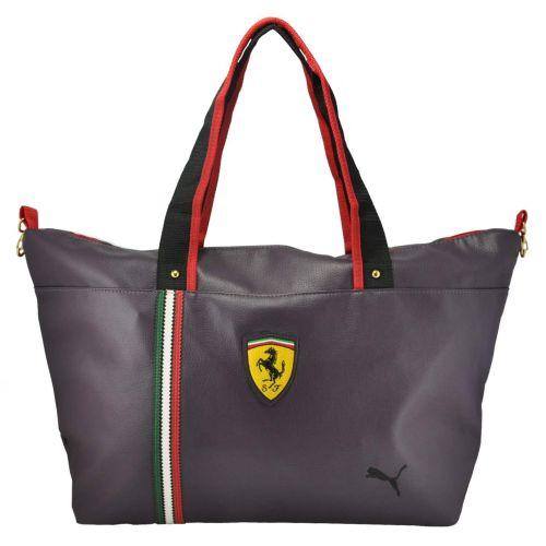 Стильная спортивная сумка Puma Ferrari фиолетовая
