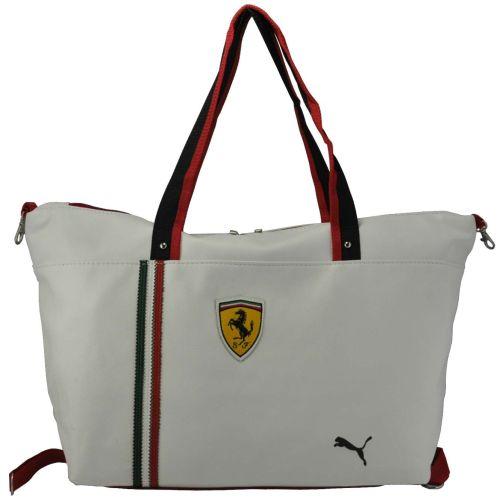 Спортивная сумка Puma Ferrari белая