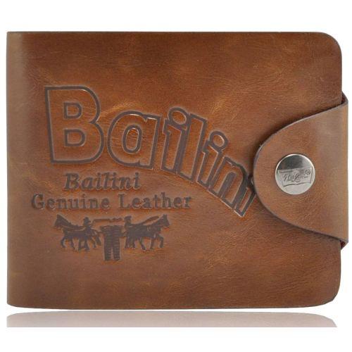 Мужской кошелек Bailini HF-237 коричневый
