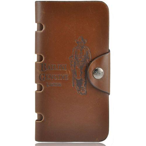 Мужской кошелек Bailini K-1 коричневый