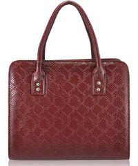 Женская сумка 3314 питон марсала