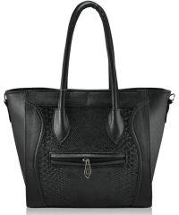 Женская сумка 4514 питон черная
