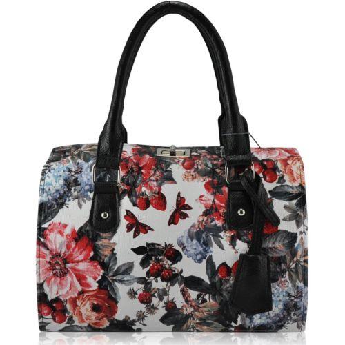 Женская сумка 5413 сад белый