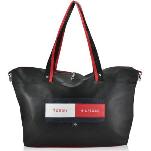 Спортивная сумка Tommy Hilfiger черная