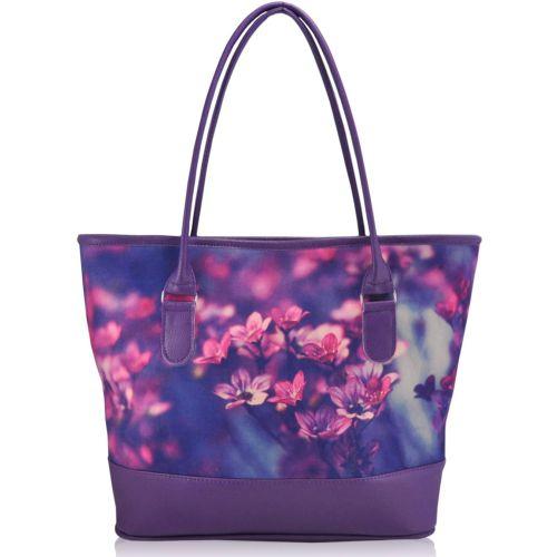 Женская сумка сакура фиолетовая