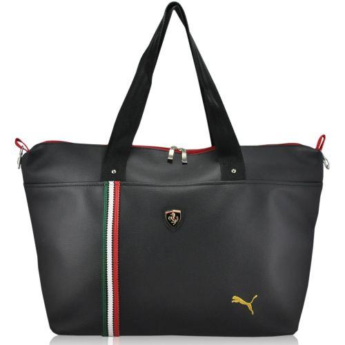 Спортивная сумка Puma Ferrari Metall черная