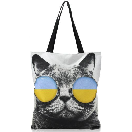 Женская сумка Кот Патриот черная