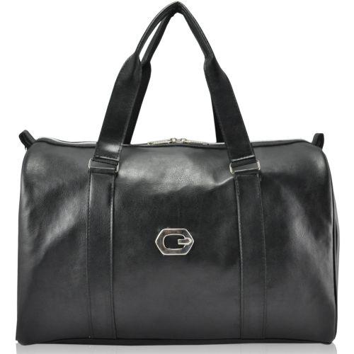 Спортивная сумка саквояж черная
