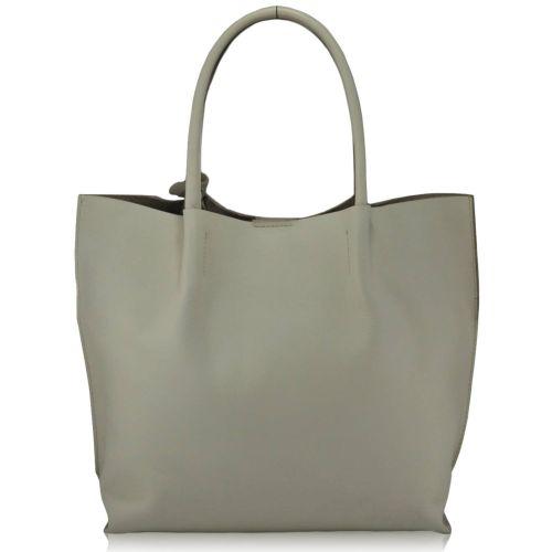 Женская кожаная сумка 828 молочная